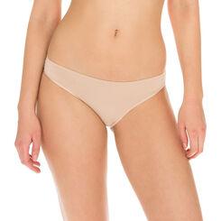 Invisi Fit second skin bikini knickers in barely beige, , DIM