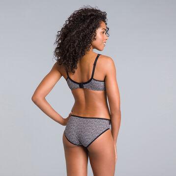 Generous nocturnal-print underwired bra - DIM