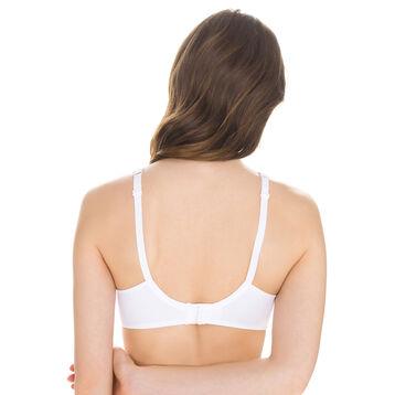 White EcoDIM non-wired bra, , DIM