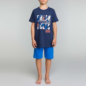 Intense blue pyjama set Dim Boy  - Break the rules, , DIM