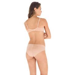 Slip bois de rose en microfibre Nude Support-DIM