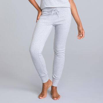 Essential mottled grey trousers - DIM