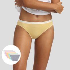 5 pack pastel colors briefs Les Pockets Agnès B. x Dim, , DIM