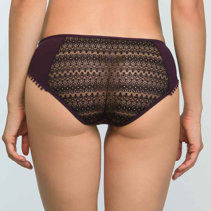 Women's Briefs in Precious Purple Lace Mod by Dim, , DIM