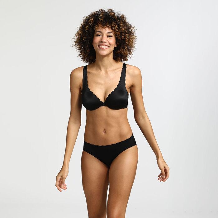 Beauty Lift black microfibre panties, , DIM