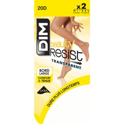 Lot de 2 Mi-Bas capri Beauty Resist 20D-DIM