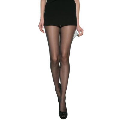 Beauty Resist Transparent 15 sheer tights in black, , DIM