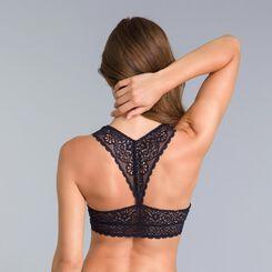 DIM Sublim MOD black lace bralette - DIM
