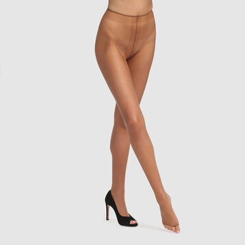 Teint de Soleil 17 tummy flattening bronzer tights in terracotta, , DIM
