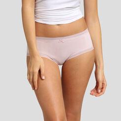 Shorty en microfibre skin rose pour femme Bar à Culottes Dim, , DIM