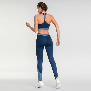 Brassière sport bleue intense pour sport modéré - Dim Sport, , DIM