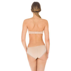 Invisi Fit strapless bandeau bra in barely beige, , DIM