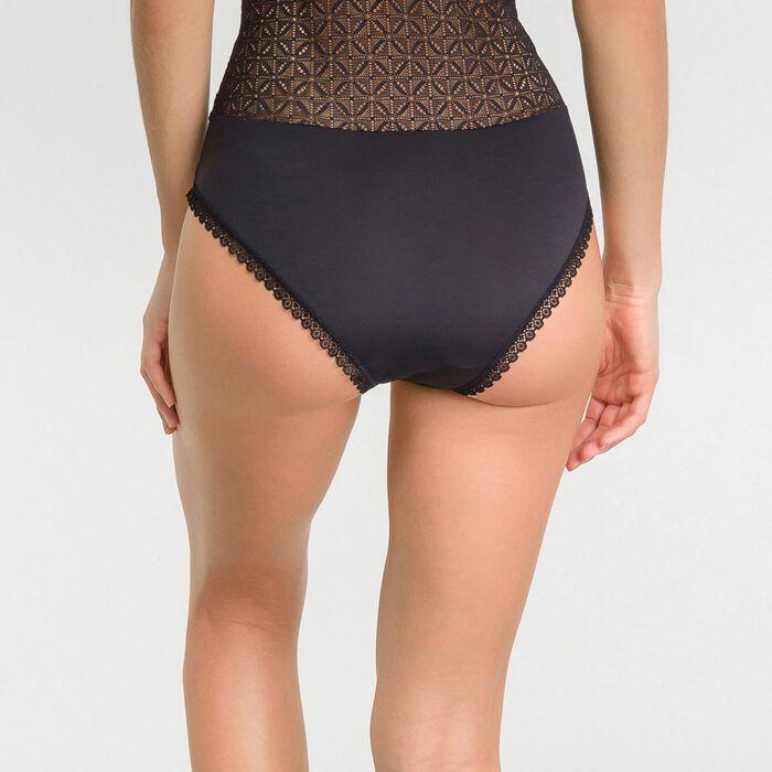Black lace bodysuit - Dim Daily Glam Trendy Sexy, , DIM