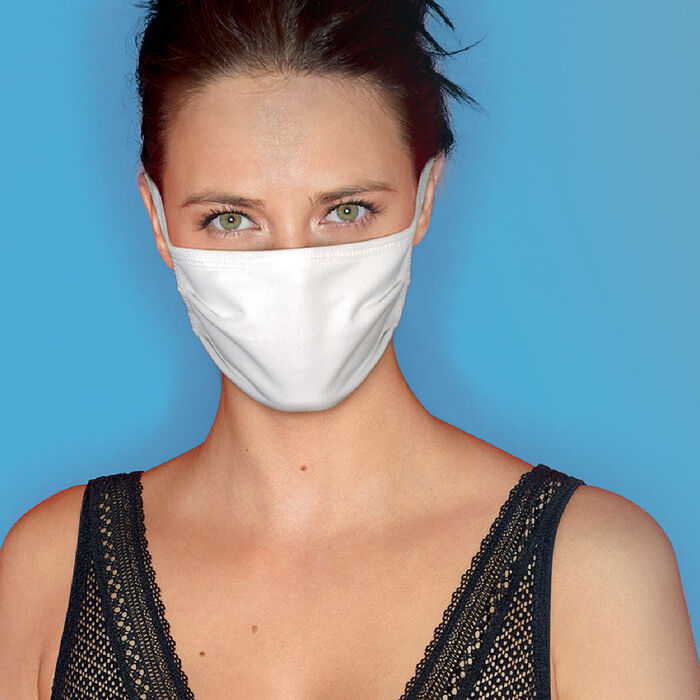 5 pack of 100% cotton protective masks, , DIM