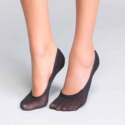 Pack of 2 Sublim Absolu® Resist 15 ladder resist knee highs in black, , DIM
