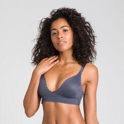Body Touch granite grey wrap-around bra - DIM