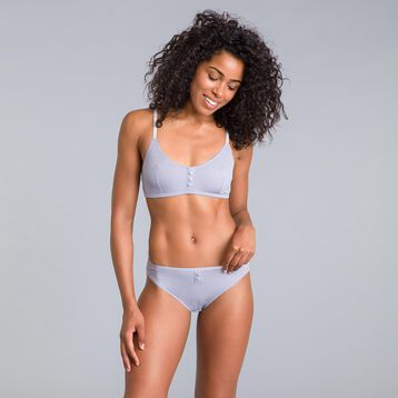 Pockets limited edition feather grey bra - DIM