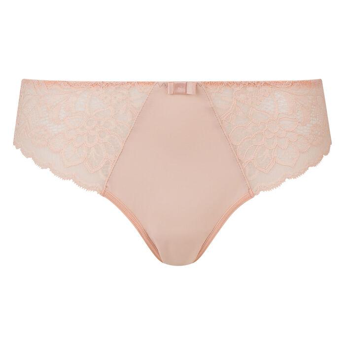 Dim Sublim Lace nude pink briefs , , DIM