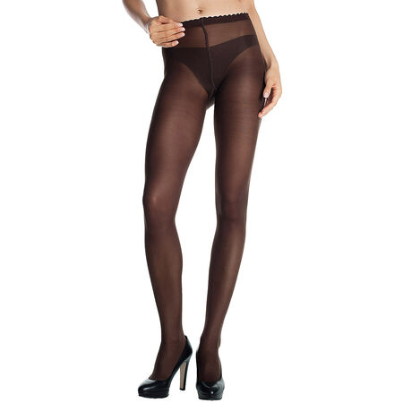 Collant chocolat Body Touch Opaque 40D bcedc43df5a