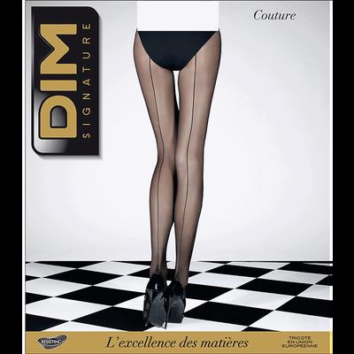 Collant noir DIM SIGNATURE Couture 20D-DIM