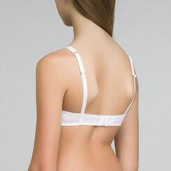DIM Girl white triangle bra - DIM