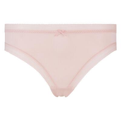 Nude pink microfiber briefs Dim Panty Box, , DIM