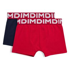 Set of 2 DIM Boy navy blue boxers - DIM