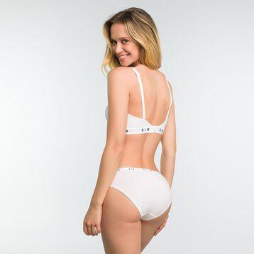 Soutien-Gorge Bandeau Blanc sans armatures femme - DIM Originals, , DIM