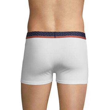 White trunks with black dots waistband - DIM Mix & Dots, , DIM