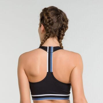 Minimum support sport bra in black  - Dim Sport, , DIM