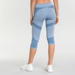 Mottled antique Blue leggings for women - Dim Sport, , DIM