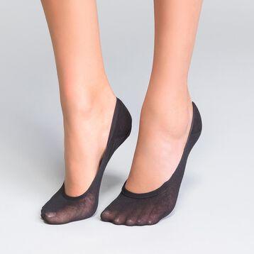 Lot de 2 protège-pieds spécial mocassins noir - Invisifit, , DIM