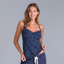 Fancy Cotton constellation-print vest top - DIM