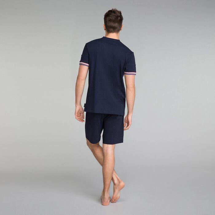 Navy blue pyjama shorts - Mix and Match, , DIM