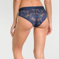 Dark blue lace shorty - MOD de Dim, , DIM