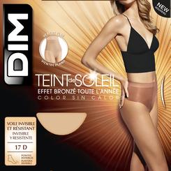Collant terracotta Teint de Soleil Ventre Plat 17D-DIM
