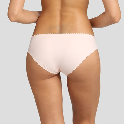 Dim New Body Touch Air ballerina pink briefs, , DIM