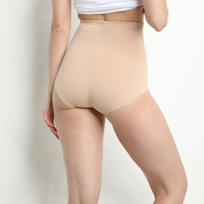 High-waisted girdle in skin tone - Diam's Control Plus, , DIM