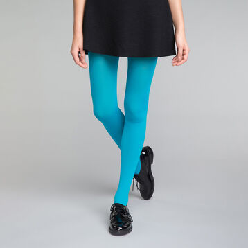 Enamel blue Opaque 50 tights - DIM Style, , DIM