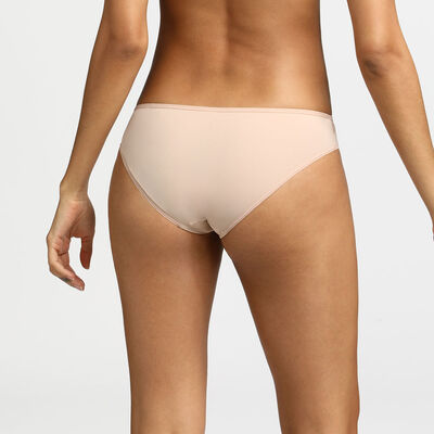 Generous Dim Microfibre and tulle new skin briefs, , DIM