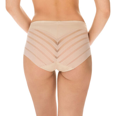 Diam's Control tummy slimming knickers in nude, , DIM
