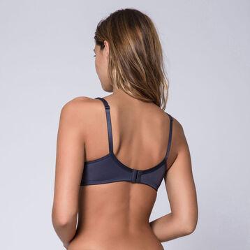 Generous taupe underwired bra - DIM