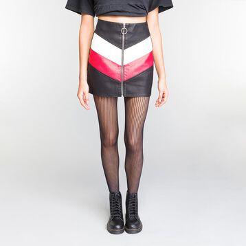 Black Stripes Fishnet 73 tights - Dim Style, , DIM