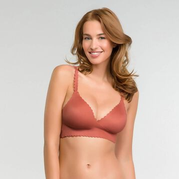 Cross over bra in cedar pink - Dim Body Touch, , DIM