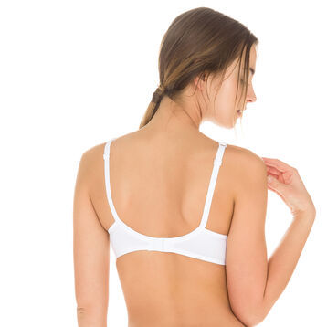 White EcoDIM underwired bra, , DIM