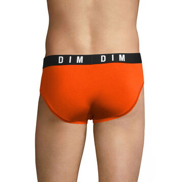Orange men's brief in modal and cotton - DIM Originals, , DIM
