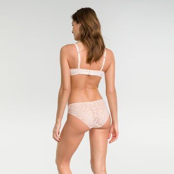 Pink lace brief - Dim Sublim Dentelle, , DIM