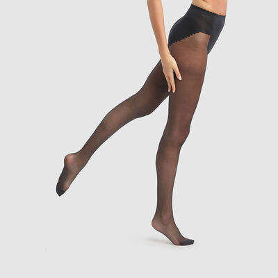 Panti negro Body Touch vientre plano 20D, , DIM