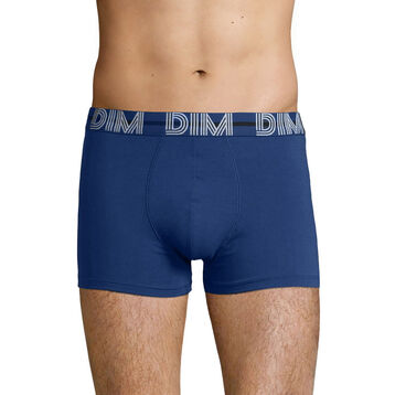 Stretch cotton trunks with Blue waistband Eclipse Blue Dim Powerful, , DIM