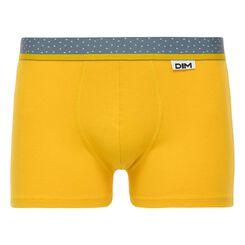 Boxer jaune moutarde Mix & Dots-DIM